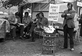1973 Sit in and occupation at Triumph motorcycle factory, Meriden, near Coventry to prevent closure of the plant - NLA - 1970s,1973,bike,CLOSED,closing,closure,closures,DISPUTE,DISPUTES,FACTORIES,factory,job loss,Job Losses,jobs,loss,losses,male,man,member,member members,members,men,Meriden,motorbike,MOTORBIKES,motorcyc