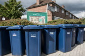Recycling bins, Old Westcroft Estate, Barnet, London - Philip Wolmuth - 17-08-2017