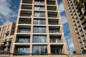 New private residential block marketed as Hendon Waterside, London, formerly West Hendon Estate, where council tenants and leaseholders in 680 properties were moved out to make way for a 2000 home dev... - Philip Wolmuth - 2010s,2017,ACE,AFFLUENCE,AFFLUENT,apartment,apartments,architecture,Arts,blocks,Bourgeoisie,building,buildings,cities,City,council,Culture,developer,developers,development,EBF,Economic,Economy,elite,e