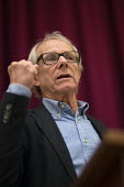 Ken Loach speaking Health Campaigns Together Conference, Hammersmith Town Hall, London - John Harris - 2010s,2017,campaign,campaigning,CAMPAIGNS,conference,conferences,Health,Health Campaigns Together Conference,London,SPEAKER,SPEAKERS,speaking,SPEECH