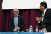 Ken Loach, Chaand Nagpaul BMA Health Campaigns Together Conference, Hammersmith Town Hall, London - John Harris - 2010s,2017,BMA,campaign,campaigning,CAMPAIGNS,conference,conferences,Health,Health Campaigns Together Conference,London