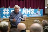 John Lister HCT speaking Workshop discussion Health Campaigns Together Conference, Hammersmith Town Hall, London - John Harris - 04-11-2017