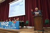 John Lister HCT speaking Health Campaigns Together Conference, Hammersmith Town Hall, London - John Harris - 2010s,2017,campaign,campaigning,CAMPAIGNS,conference,conferences,Health,Health Campaigns Together Conference,London,SPEAKER,SPEAKERS,speaking,SPEECH