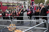 The Orange Order marching to The Cenotaph, Remembrance Day, Whitehall, London - Jess Hurd - Orange Order,2010s,2017,ACE,Belief,Cenotaph,comemoration,conviction,Culture,dead,faith,flag,flags,floral tribute,floral tributes,flower,flowering,flowers,GOD,LIFE,LOL,London,Loyal Orange Institution,l