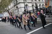 The Orange Order marching to The Cenotaph, Remembrance Day, Whitehall, London - Jess Hurd - 11-11-2017