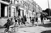 Children playing outside on the street, west London summer 1968 - Patrick Eagar - 24-06-1968