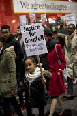 Justice for Grenfell silent walk, Kensington and Chelsea, London - Jess Hurd - 14-11-2017