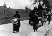 Belgians fleeing the Nazi invasion northern Belgium May 1940 - Report Archive - 11-05-1940