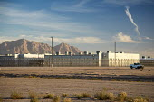 Eloy, Arizona USA, Eloy Immigration Detention Center, a private prison operated by CoreCivic, formerly the Corrections Corporation of America for Immigration and Customs Enforcement - Jim West - 2010s,2017,America,Arizona,Arizona desert,border control,border controls,borders,CLJ,CoreCivic,Corrections Corporation of America,Crime,deportation,deporting,desert,Detention,detention center,Diaspora