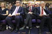 Tom Watson, John McDonnell, Jeremy Corbyn, Labour Party Rally West Bromwich - John Harris - 2010s,2017,Jeremy Corbyn,John McDonnell,Labour Party,MP,MPs,Party,POL,political,politician,politicians,Politics,rallies,rally,Tom Watson