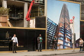 Principal Tower a 50 storey residential block designed by Foster & Partners, under constructon in Bishopsgate, City of London - Philip Wolmuth - 16-10-2017