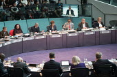 Mayors Question Time, London Assembly members questioning Sadiq Khan, City Hall, London - Philip Wolmuth - 16-11-2017