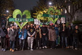 Justice for Grenfell silent walk, Kensington and Chelsea, London - Philip Wolmuth - 14-11-2017