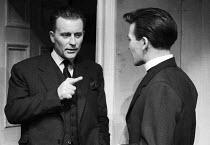 Theatre Director John Fernald Principal of RADA talking to student, London 1958 - Alan Vines - 24-11-1958