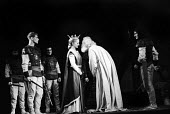 RSC 1959 production of KIng Lear by William Shakespeare directed by Glen Byam Shaw with Zoe Caldwell playing Cordelia and Charles Laughton as KIng Lear - Alan Vines - 1950s,1959,ACE,acting,actor,actors,Arts,Charles Laughton,Classic,Culture,drama,DRAMATIC,GB Shaw,King Lear,maker,makers,making,male,man,men,people,person,persons,play,playing,plays,production,Royal Sha