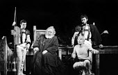 RSC 1959 KIng Lear by William Shakespeare directed by Glen Byam Shaw with Charles Laughton and Ian Holm (R) - Alan Vines - 1950s,1959,ACE,acting,actor,actors,Arts,Charles Laughton,Classic,Culture,drama,DRAMATIC,GB Shaw,Ian Holm,King Lear,male,man,men,people,person,persons,play,PLAYING,plays,Royal Shakespeare Company,Royal