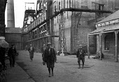 Miners at Shotton Colliery, County Durham 1948 - Elisabeth Chat - 01-06-1948
