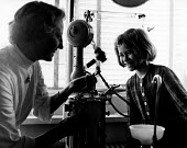 Copenhagen, 1953. Danish schoolgirl Lilli Osterland aged 9 after receiving routine dental treatment in the surgery located at her own school. The free school health services kept Danish school childre... - Eric Schwab - 19-04-1953