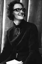 Classical musical composer Thea Musgrave London 1967 - Patrick Eagar - 30-11-1967