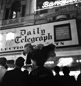 1959 General Election Piccadilly Circus, London