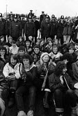 Blockade of the USAF air base at Greenham Common on the third anniversary of the establishment of the Greenham Common Womens Peace Camp - Stefano Cagnoni - 23-09-1984