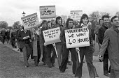 Vauxhall workers protest threatened with short time working, London 1975 The car industry had over capacity - NLA - 1970s,1975,3-day week,40 hours,activist,activists,auto,Automotive Industry,CAMPAIGNING,CAMPAIGNS,capitalism,car worker,car workers,DEMONSTRATING,Demonstration,Industries,industry,job loss,Job Losses,j