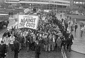 Lambeth march against cuts London 1979, as the plans of the government become clear - NLA - 07-11-1979
