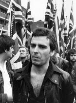 NF march Lewisham London 1977 - David Mansell - 13-08-1977