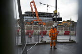 Worried subcontractors. Carillion liquidation has put thousands of jobs at risk. Work has stopped on the 700 million Paradise redevelopment in Birmingham city centre - John Harris - 15-01-2018