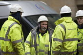 Worried Briggs Amasco subcontractors. Carillion liquidation has put thousands of jobs at risk. Work has stopped on the 700 million Paradise redevelopment in Birmingham city centre - John Harris - 15-01-2018