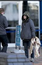 Woman begging in the street, Birmingham - John Harris - 15-01-2018