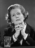 Margaret Thatcher, EEC election campaign press conference 1979 - Martin Mayer - 18-05-1979