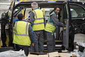 LEVC London EV Company electric Taxi factory, Coventry - John Harris - 2010s,2018,Ansty,assembly,auto,automotive,Automotive Industry,BAME,BAMEs,Black,Black and White,Black Cab,black cabs,BME,bmes,cab,cabs,Car Industry,car worker,car workers,carindustry,cas,chinese,Compan