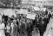 Palestine Solidarity demonstration, London 1975 - NLA - 1970s,1975,activist,activists,banner,banners,campaign,campaigning,CAMPAIGNS,DEMONSTRATING,Demonstration,Diaspora,displaced,foreigner,foreigners,immigrant,immigration,London,male,man,men,migrant,migran