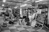Placards at Crosfield Electronics, Holloway, London 1975 occupied by the workers to keep their jobs in London. Crosfields developed the first digital scanner for the printing industry in the mid 1970s - Martin Mayer - 1970s,1975,capitalism,capitalist,close,closed,closing,closing down,closure,closures,Crosfield Electronics,De La Rue Group,digital,disputes,ELECTRONIC,Electronics,Holloway,Industrial dispute,Industries