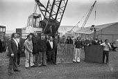 Sit in by building workers against job losses, Cammell Laird shipyard, Birkenhead, Liverpool 1975 - Peter Arkell - 01-03-1975