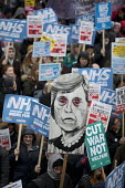 NHS in Crisis - Fix it now protest organised by the Peoples Assembly and Health Campaigns Together, Central London - Jess Hurd - 03-02-2018