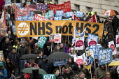 NHS not HS2, NHS in Crisis - Fix it now protest organised by the Peoples Assembly and Health Campaigns Together, Central London - Jess Hurd - 03-02-2018