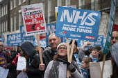 NHS in Crisis - Fix it now protest organised by the Peoples Assembly and Health Campaigns Together, Central London - Philip Wolmuth - 03-02-2018