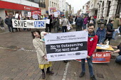 NHS in Crisis - Fix it Now protest, Gloucester. No to privatisation No to Subco - John Harris - 03-02-2018