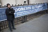 Helen Steel, Spycops Pitchford Inquiry, Royal Courts of Justice, London - Jess Hurd - 2010s,2018,activist,activists,adult,adults,banner,banners,campaign,campaigning,CAMPAIGNS,civil rights,Counter Terrorism,court,court case,courts,covert,DEMONSTRATING,Demonstration,Domestic Extremist,Do