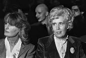 Lady Annabel Goldsmith and Baroness Falkender, Institute of Directors Annual Convention, London 1979 - NLA - 1970s,1979,AFFLUENCE,AFFLUENT,Bourgeoisie,Business,EBF,Economic,Economy,elite,elitism,FEMALE,high,high income,income,INEQUALITY,Institute of Directors,Labour Party,Lady Annabel Birley,Lady Falkender,L