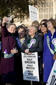 Sisters Angela and Maria Eagle with Yvette Cooper and Harriet Harman as Labour launches campaign to celebrate 100 years of womens suffrage with female members of the Shadow Cabinet and Labour politici... - Jess Hurd - 100 years,2010s,2018,activist,activists,Angela Eagle,campaign,campaigning,CAMPAIGNS,CELEBRATE,celebrating,celebration,celebrations,COMMEMORATE,Commemorate The Centenary Of Women's Suffrage,COMMEMORATI