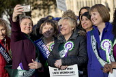 Sisters Angela and Maria Eagle with Yvette Cooper and Harriet Harman as Labour launches campaign to celebrate 100 years of womens suffrage with female members of the Shadow Cabinet and Labour politici... - Jess Hurd - 100 years,2010s,2018,activist,activists,Angela Eagle,CAMERA,camera phone,cameras,campaign,campaigning,CAMPAIGNS,CELEBRATE,celebrating,celebration,celebrations,CELLULAR,COMMEMORATE,Commemorate The Cent