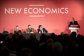 John McDonnell speaking, New Economics, Alternative Models of Ownership Labour Party conference, London. Cat Hobbs, Professor Andrew Cumbers, Gareth Thomas Co-Operative Party - Jess Hurd - 2010s,2018,conference,conferences,Co-Operative Party,FEMALE,Labour Party,male,man,men,mp,mps,New Economics,Party,people,person,persons,POL,political,politician,politicians,Politics,SPEAKER,SPEAKERS,sp