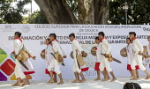 Oaxaca, Mexico Mixtec group performing a traditional harvest dance. Indigenous community celebrating The International Day of The Mother Tongue. The day is dedicated to the protection of native langua... - Jim West - 2010s,2018,ACE,adult,adults,Arts,BAME,BAMEs,BEMM,BEMMS,BME,bmes,CELEBRATE,celebrating,celebration,CELEBRATIONS,communicating,communication,communities,community,Culture,Día Internacional de la Lengua
