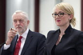 Jeremy Corbyn, Rebecca Long-Bailey MP, Labour Party Jobs First Brexit speech, Coventry University Technology Park - John Harris - 2010s,2018,Brexit,Coventry,EU,European Union,eurosceptic,Euroscepticism,eurosceptics,FEMALE,Jeremy Corbyn,Labour Party,male,man,meeting,MEETINGS,men,MP,MPs,Party,people,person,persons,POL,political,po