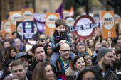 March4Women retracing the historic steps of the suffragettes past Parliament to Trafalgar Square organised by CARE International UK, Westminster, London. - Jess Hurd - 04-03-2018