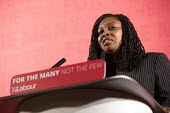 Dawn Butler MP introducing John McDonnell MP, Pre-Spring Statement speech, London - Jess Hurd - 2010s,2018,BAME,BAMEs,BEMM,BEMMS,Black,BME,bmes,Dawn,Dawn Butler,diversity,ethnic,ethnicity,FEMALE,John McDonnell MP,Labour,Labour Party,London,minorities,minority,MP,MPs,people,person,persons,POC,POL
