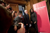Dawn Butler MP and John McDonnell MP, Pre-Spring Statement speech, London - Jess Hurd - 2010s,2018,BAME,BAMEs,BEMM,BEMMS,Black,Black and White,BME,bmes,Dawn,Dawn Butler,diversity,ethnic,ethnicity,FEMALE,John McDonnell,John McDonnell MP,Labour,Labour Party,London,minorities,minority,MP,MP